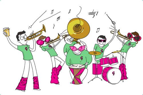 Concert de l'école de musique de la fanfare l'Espérance le 23 juin